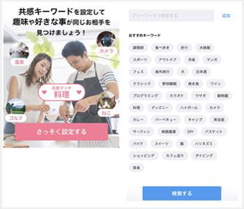 共感キーワード検索機能
